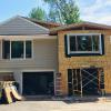Addition in Mendota Heights during construction